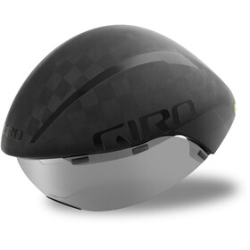 Giro Aerohead Ultimate MIPS Casque, matte black/gloss black